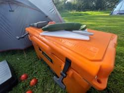 Utoka Camping Cooler Prep
