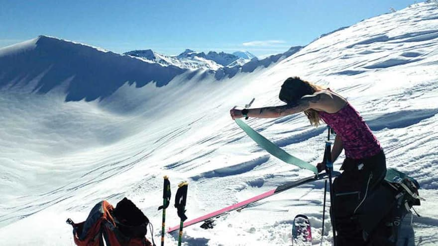 927 x 500 Ski Touring for Beginners Shannon Mahre