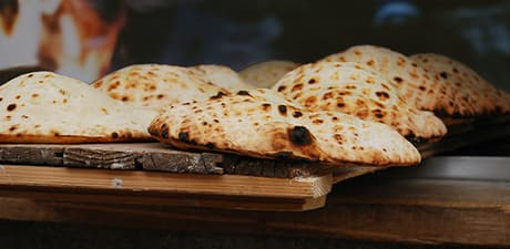 Flatbread Outside and Active Cooking Outdoors