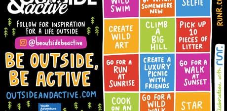 Runr Bingo Outside Active Youth Adventure trust