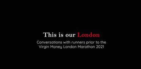 This is our london london marathon