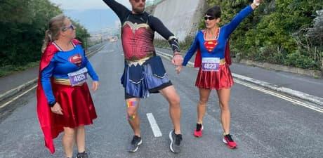 Fun half marathon