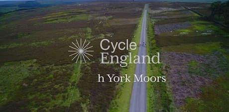 North york moors cycle england