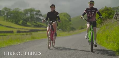 Yorkshire dales cycle england