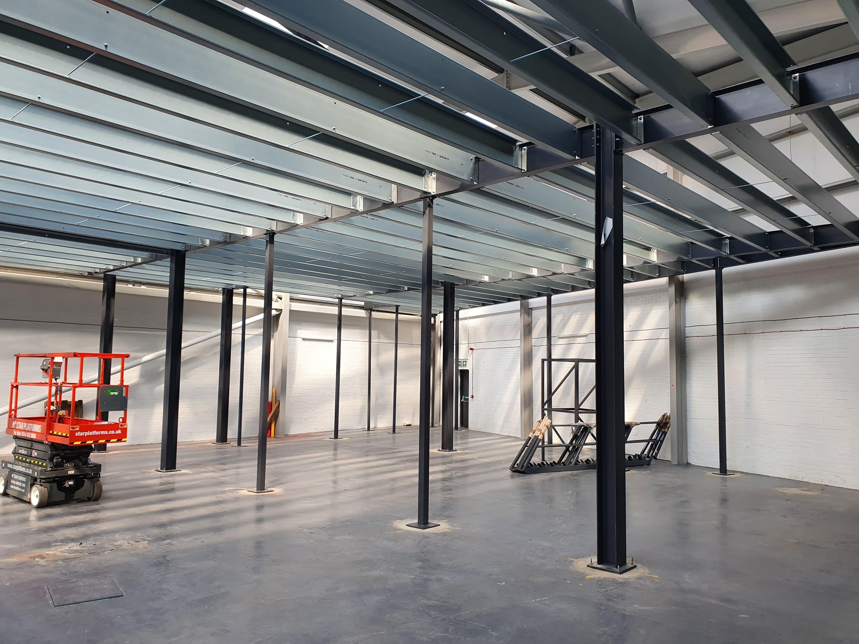 Empty warehouse ground floor