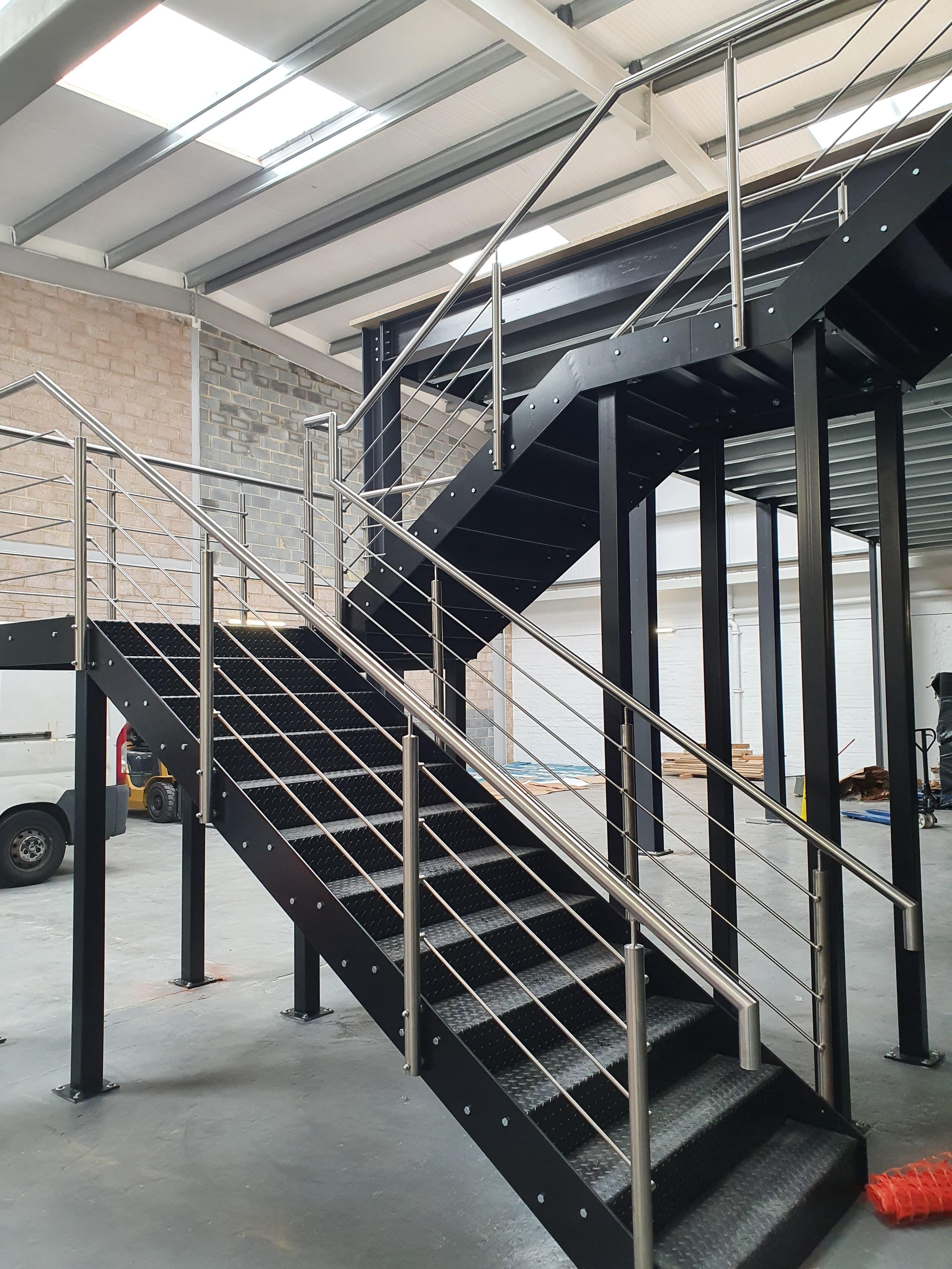 profile of mezzanine stairs