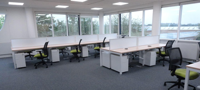 BIffa open plan offices