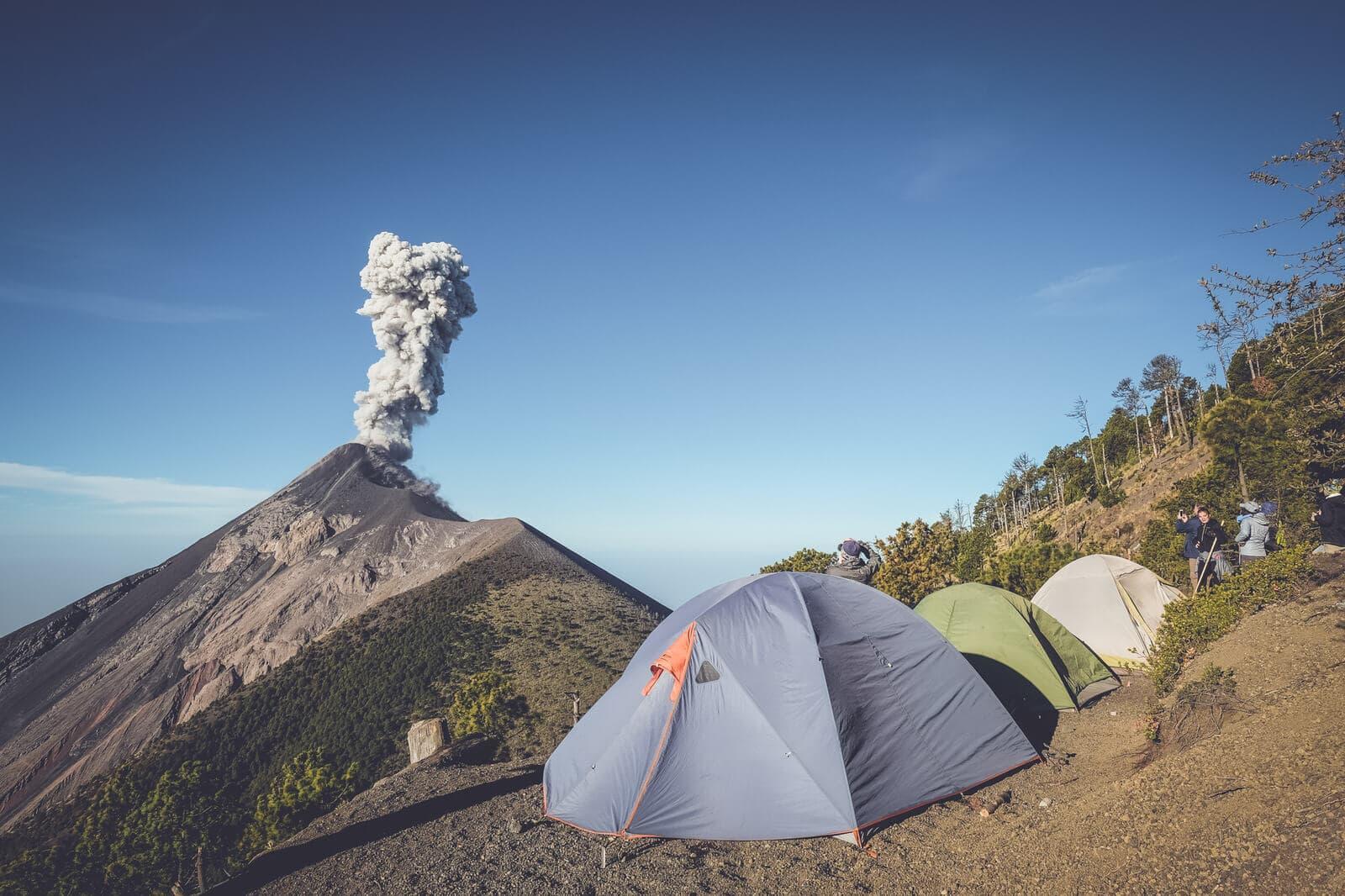 Acatenango Campsite Eruption
