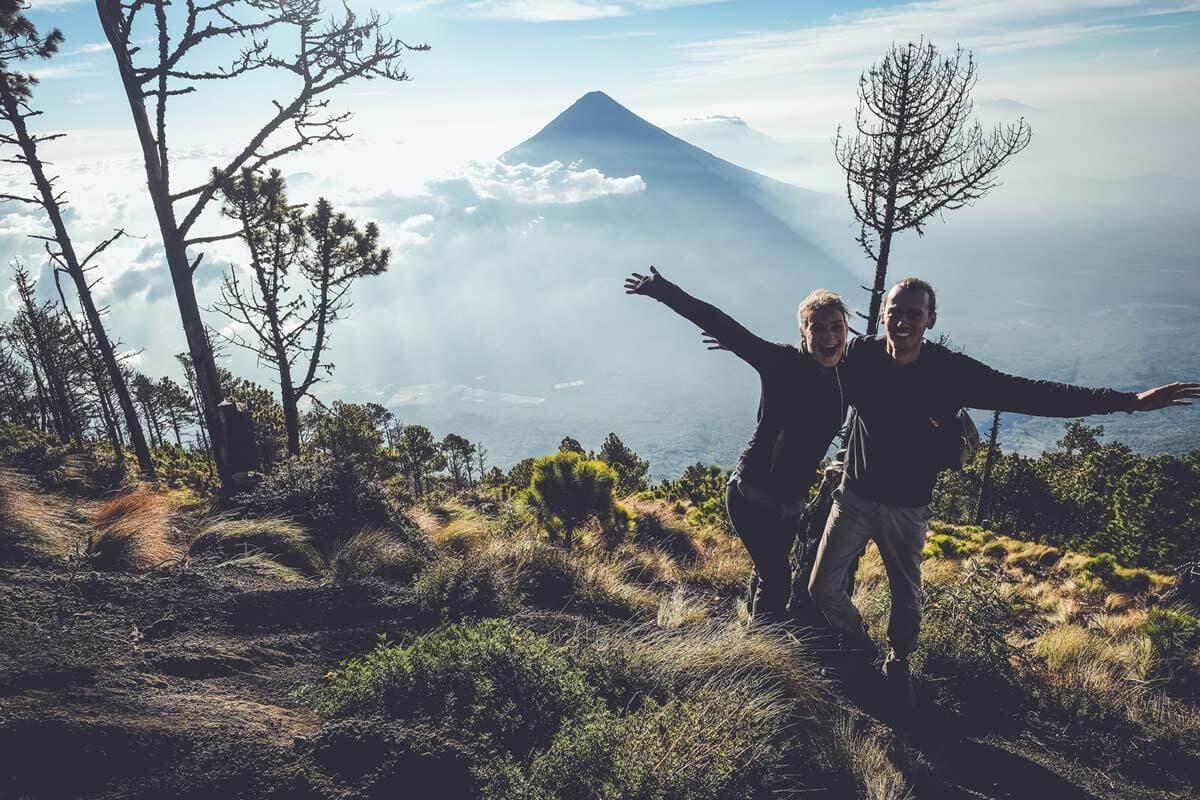 Acatenango Happy Hikers