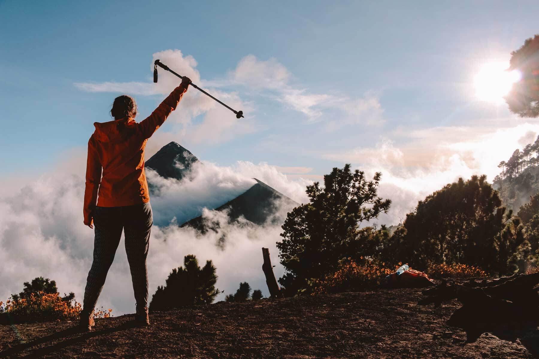 Acatenango Hiker Triumph