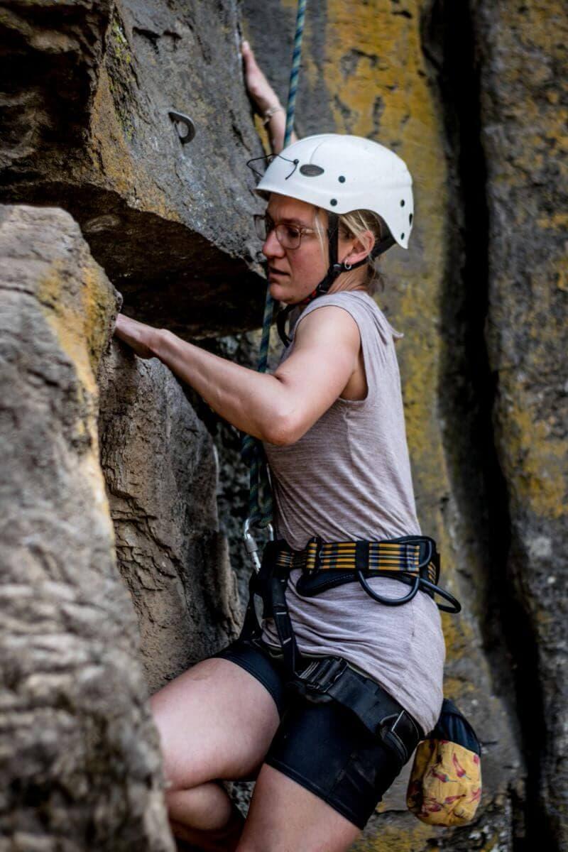Amatitlan Rock Climbing Client