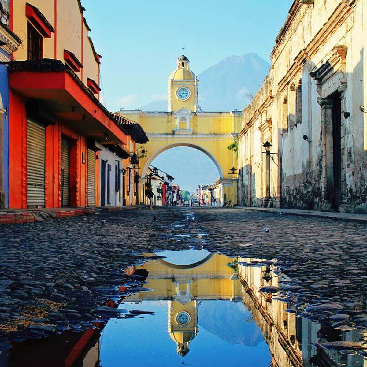 Antigua Guatemala Arch Street