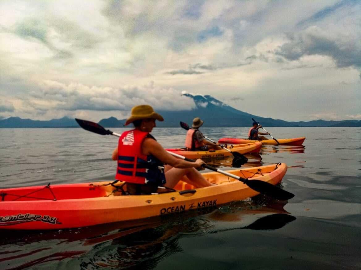 Atitlan Kayak Volcanoes