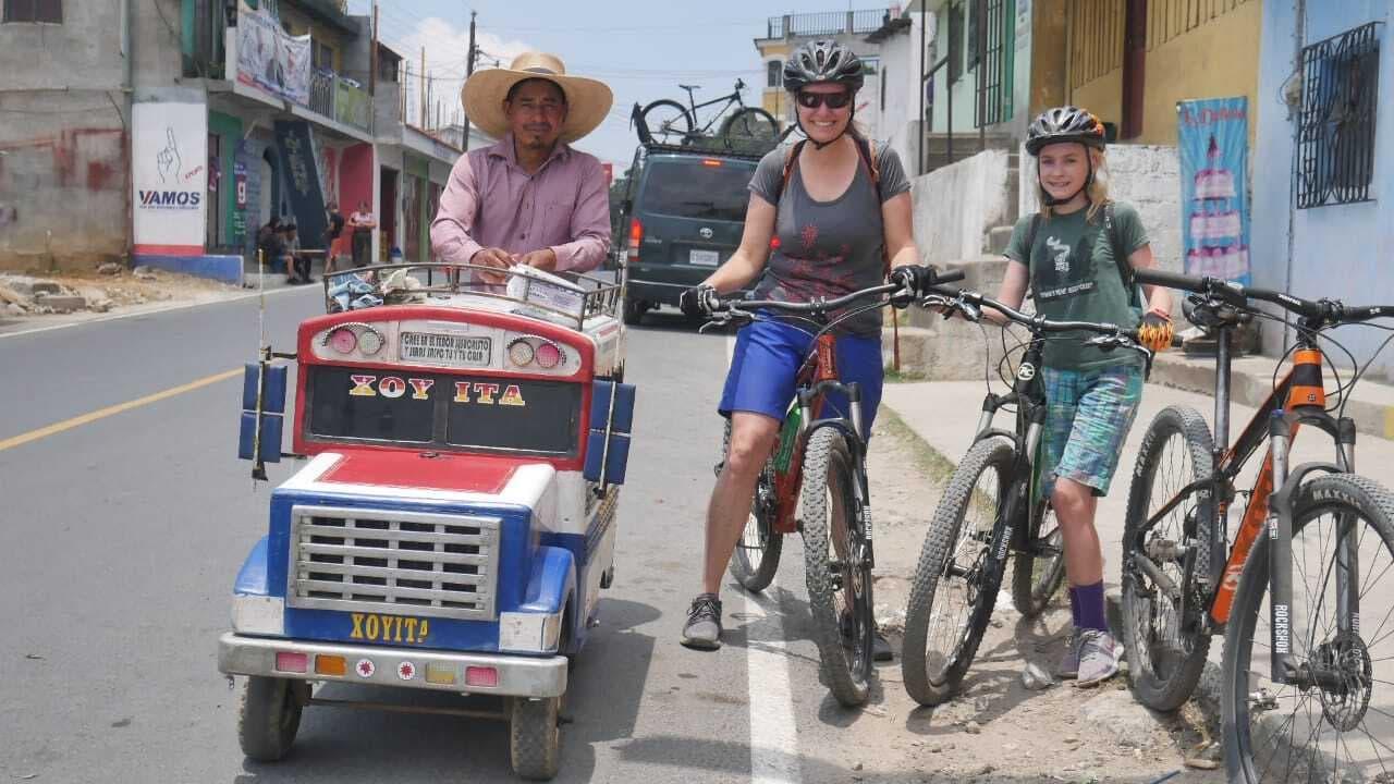 Atitlan family mountain bike culture