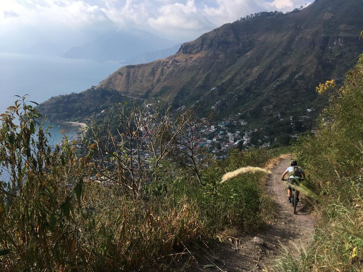 Atitlan singletrack mtb trail