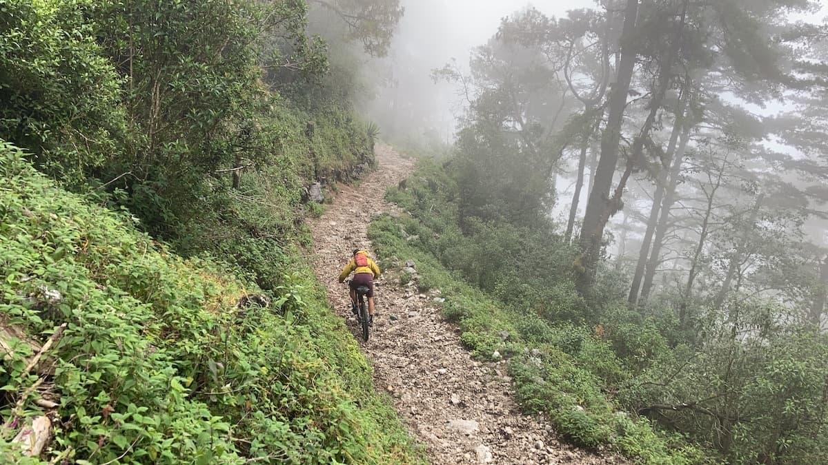 Chortiz downhill