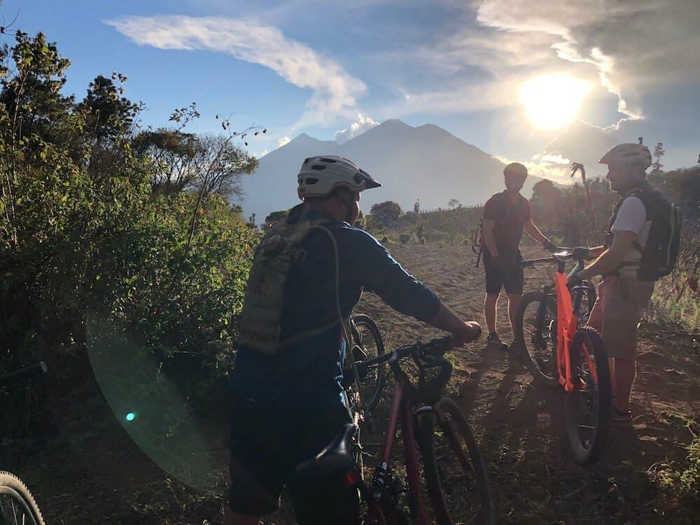 Cielo Grande volcano view