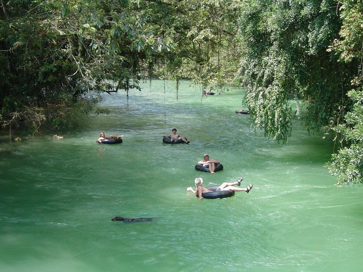 Coban river tubing
