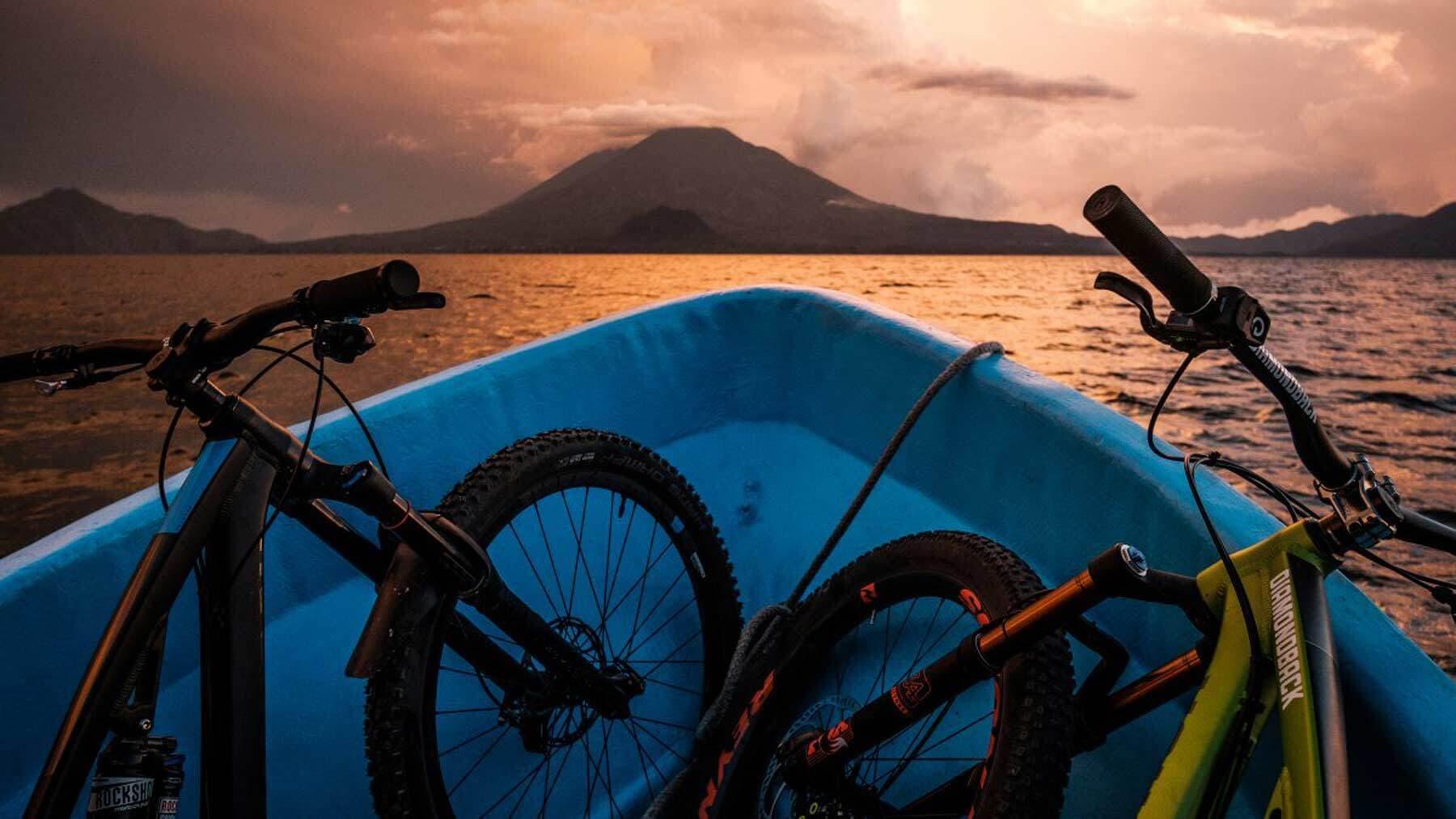 Lake Atitlan Bikes Boat