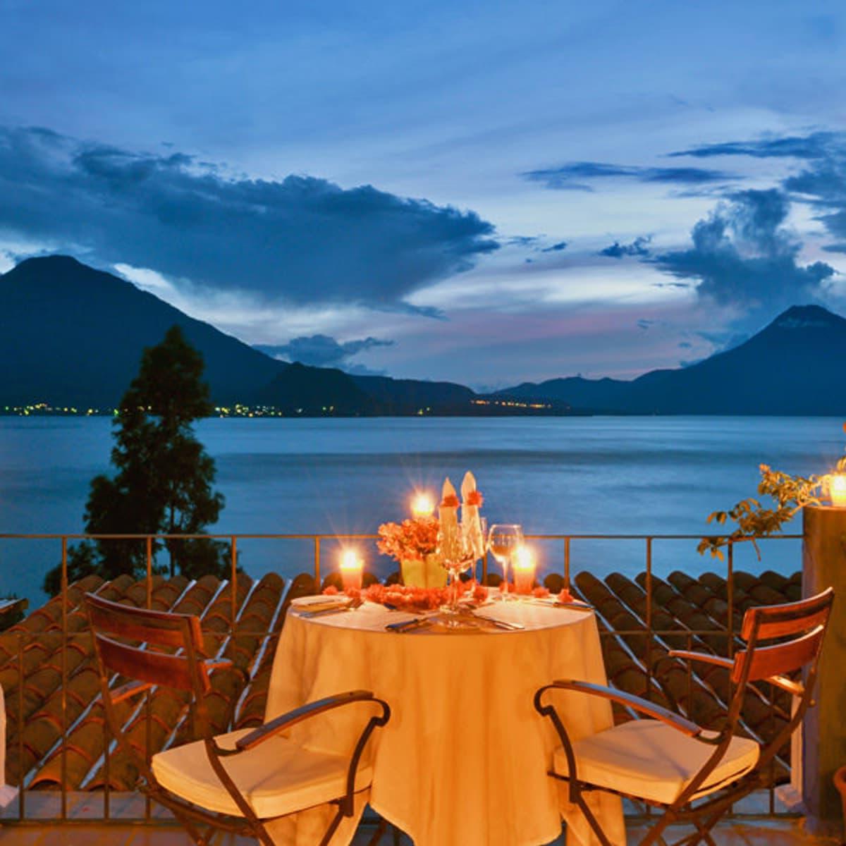 Lake Atitlan Candlelight Dinner prepared during custom Guatemala itinerary