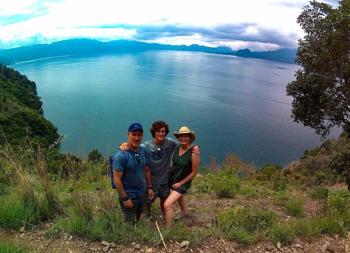 Lake Atitlan Hike Family Volcano