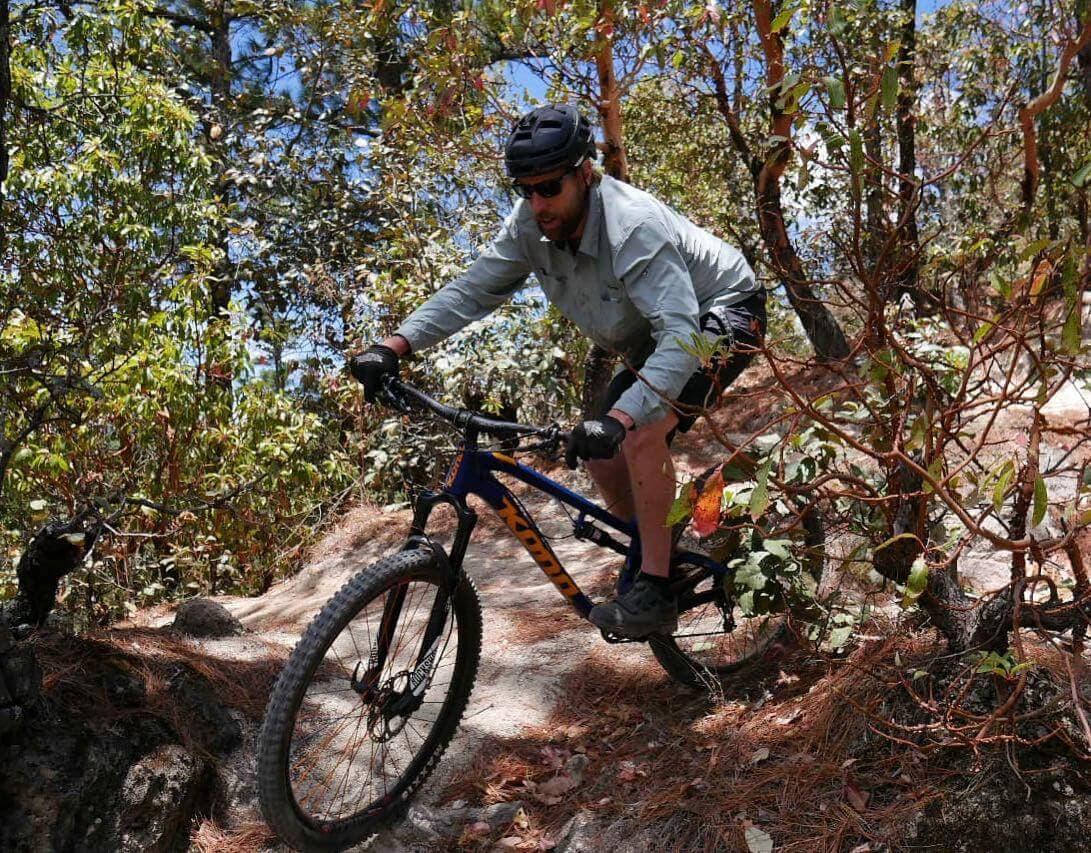 Lake Atitlan Slickrock enduro MTB