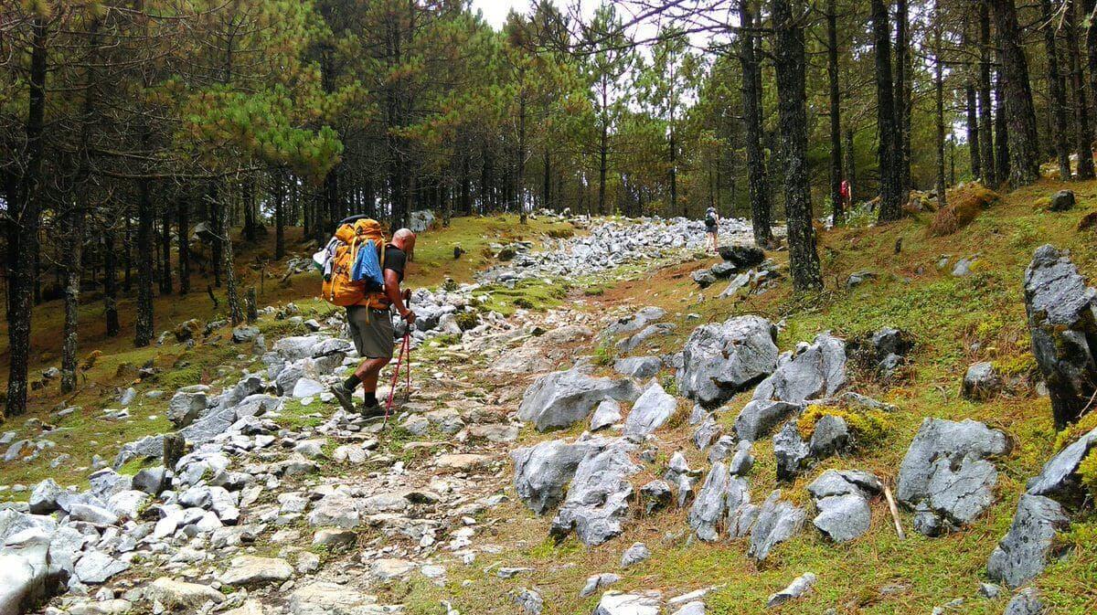 Nebaj Todos Santos Rocky Trail