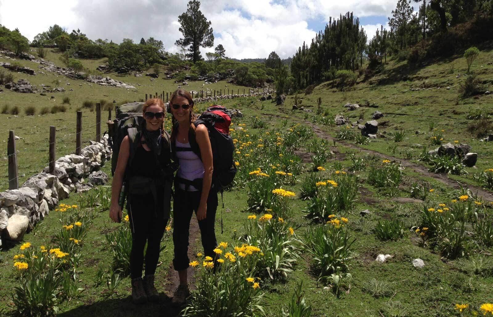 Nebaj Todos Santos Women Hikers
