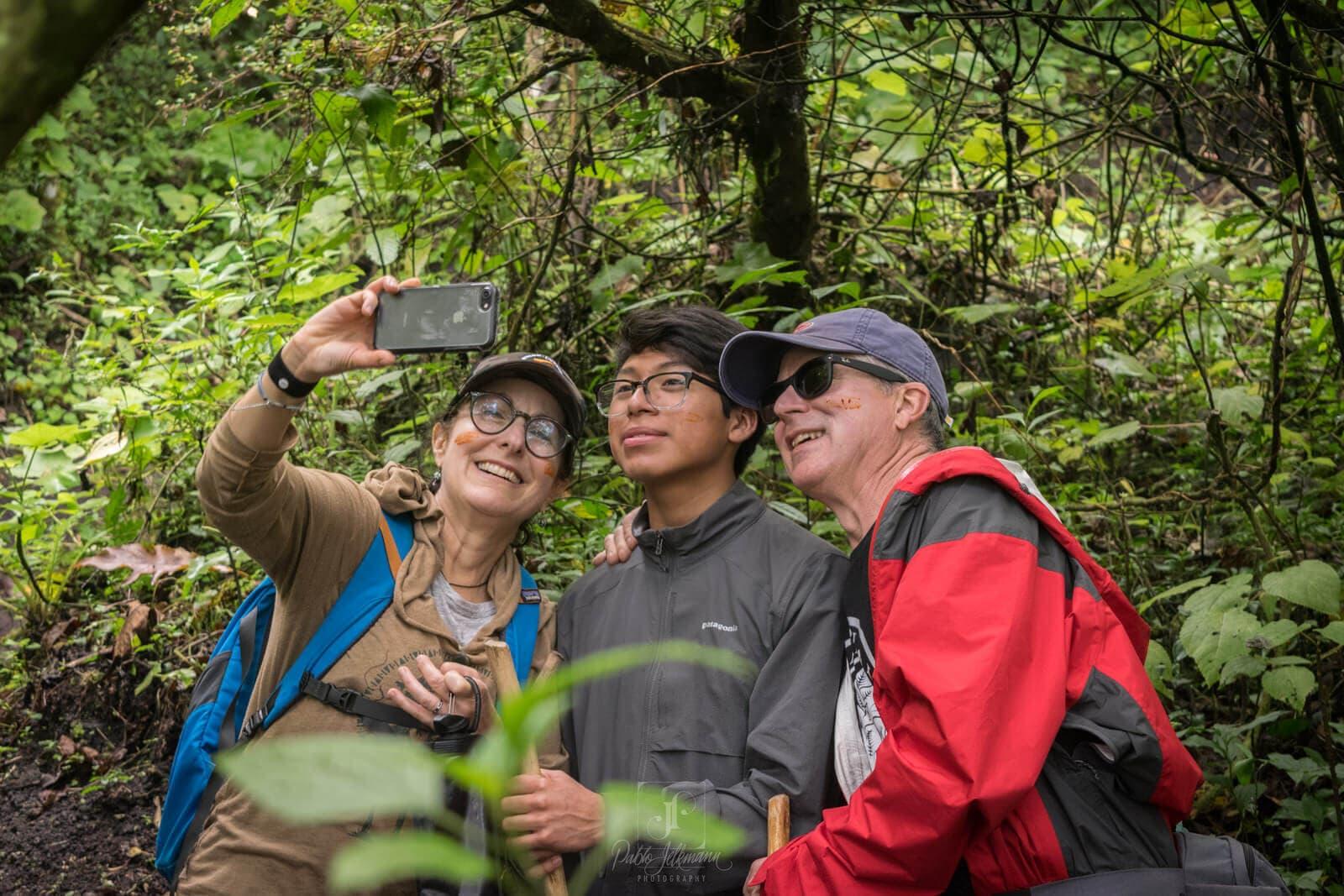 Pacaya Family Selfie