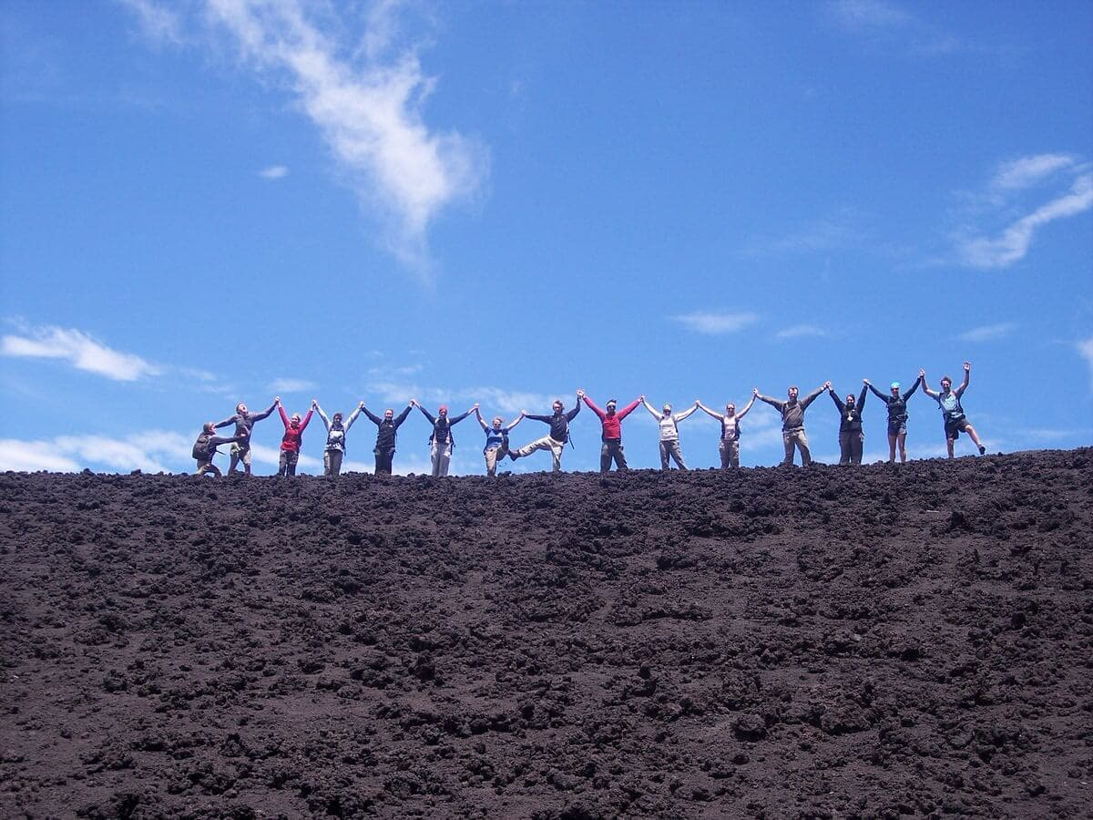Pacaya Group Jump