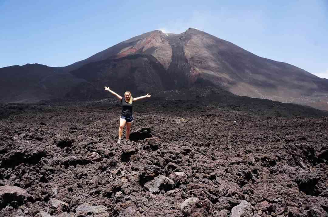 Pacaya Lava Field