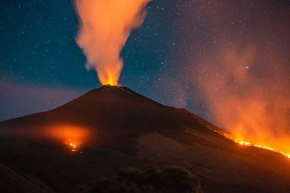 Pacaya Lava Flows