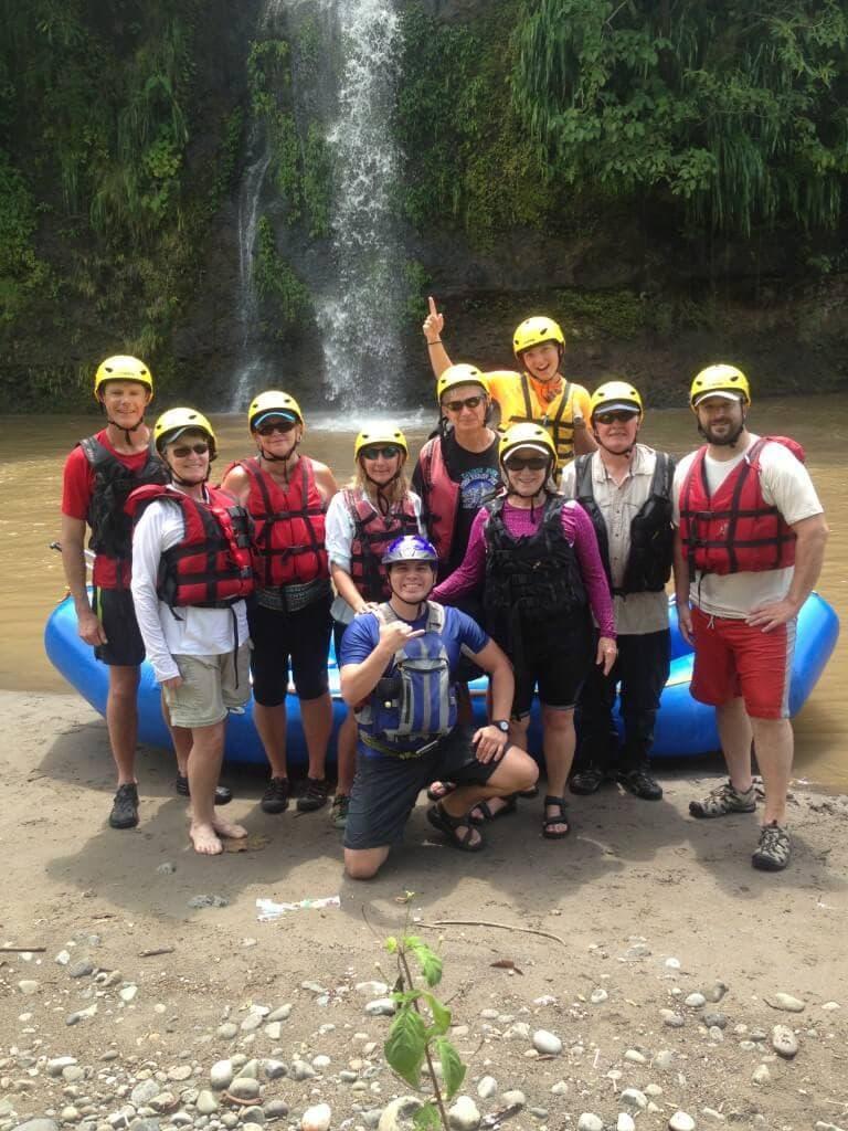 Rio Coyolate Rafting Waterfall Whitewater Medium