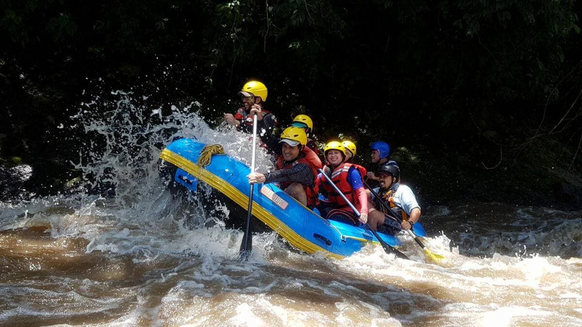 Rio Coyolate Whitewater Rafting Rapid