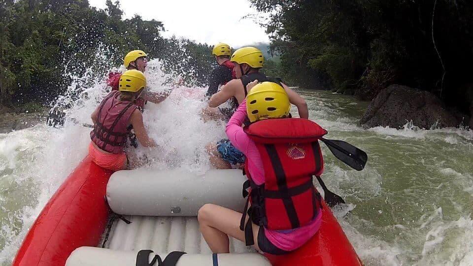 Rio Coyolate Whitewater Rafting Splash