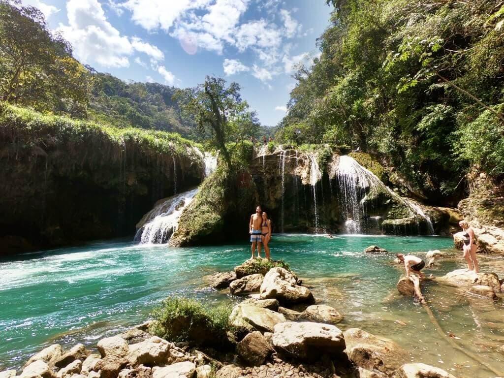 Semuc Champey Waterfalls Couple Medium