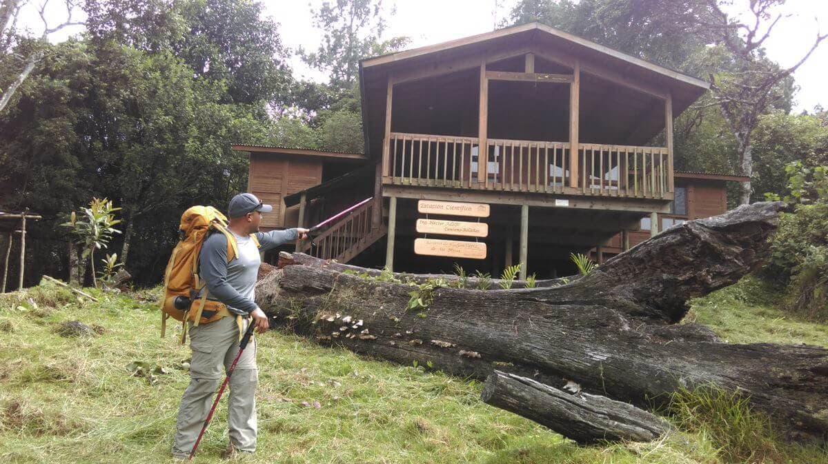 Sierra Las Minas Cabin Hiker