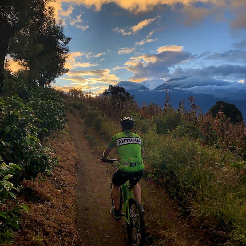 Sunset Acatenango