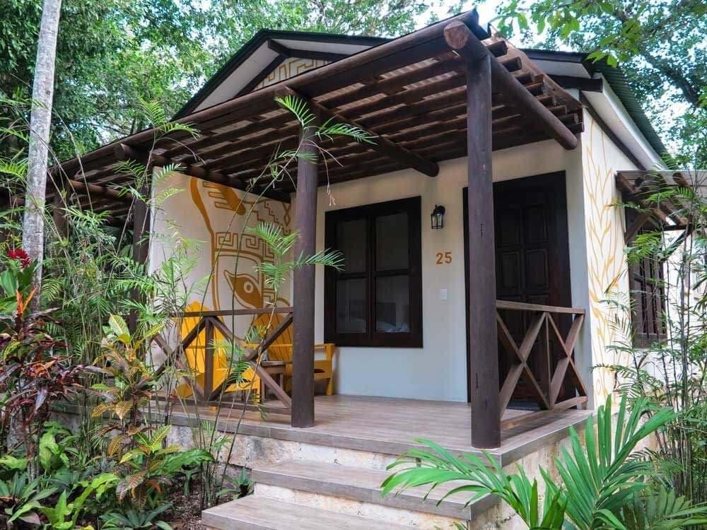 Tikal Hotel Jungle Lodge Cabana