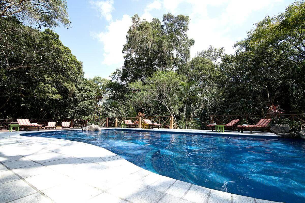 Tikal Hotel Jungle Lodge Pool