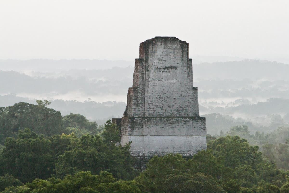 Tikal Jungle Temple