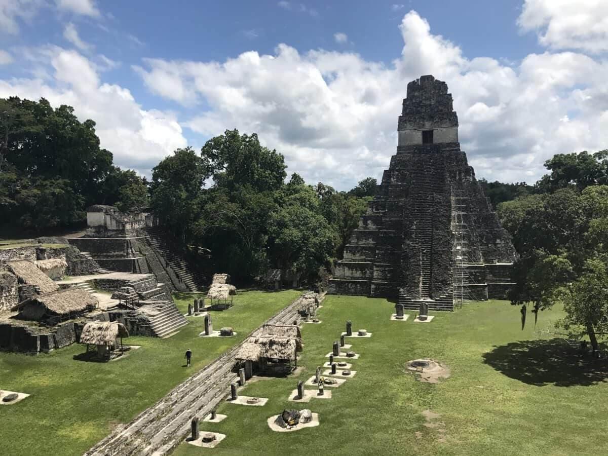 Tikal Main Courtyard Ruins