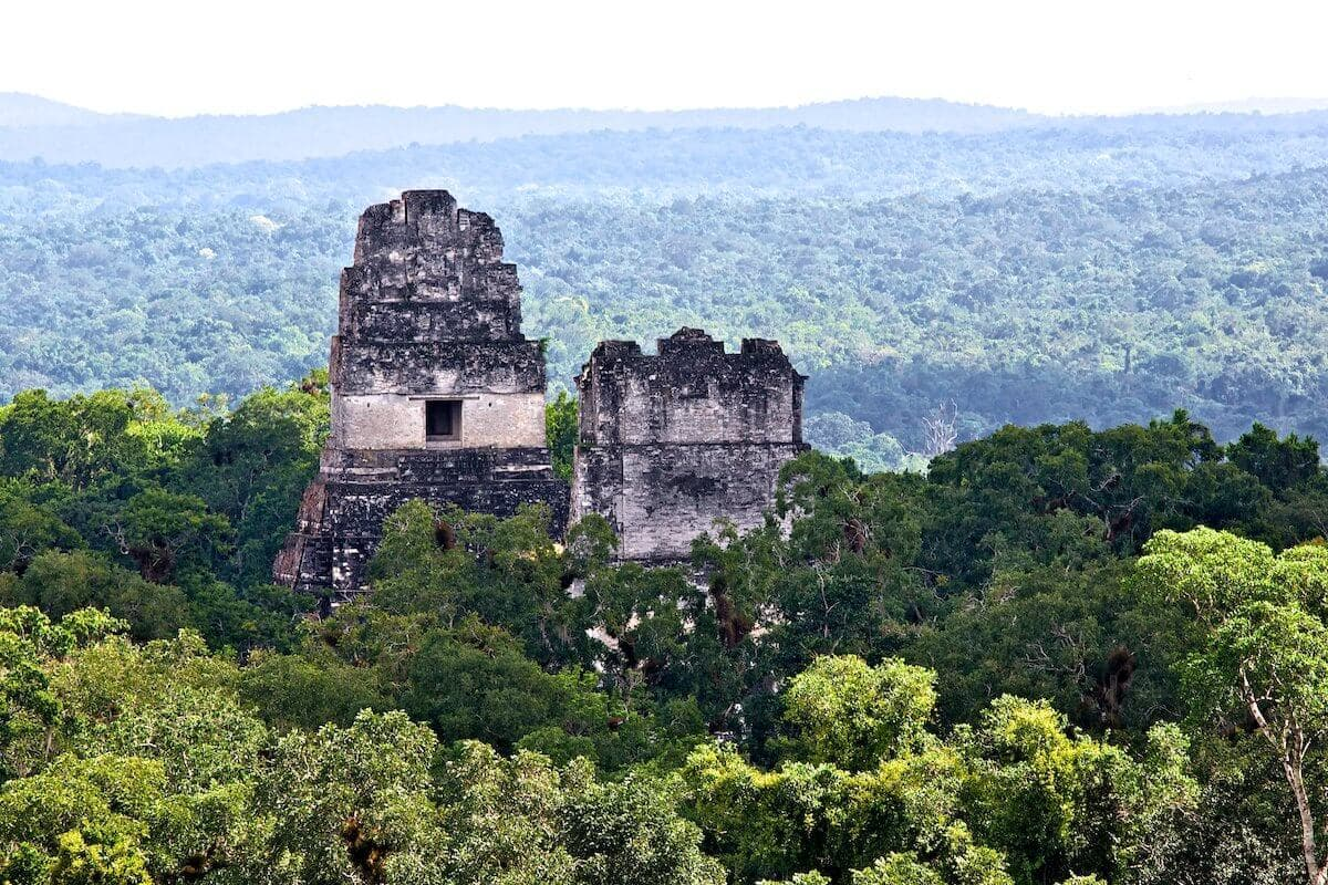 Tikal Mayan Ruins Peten
