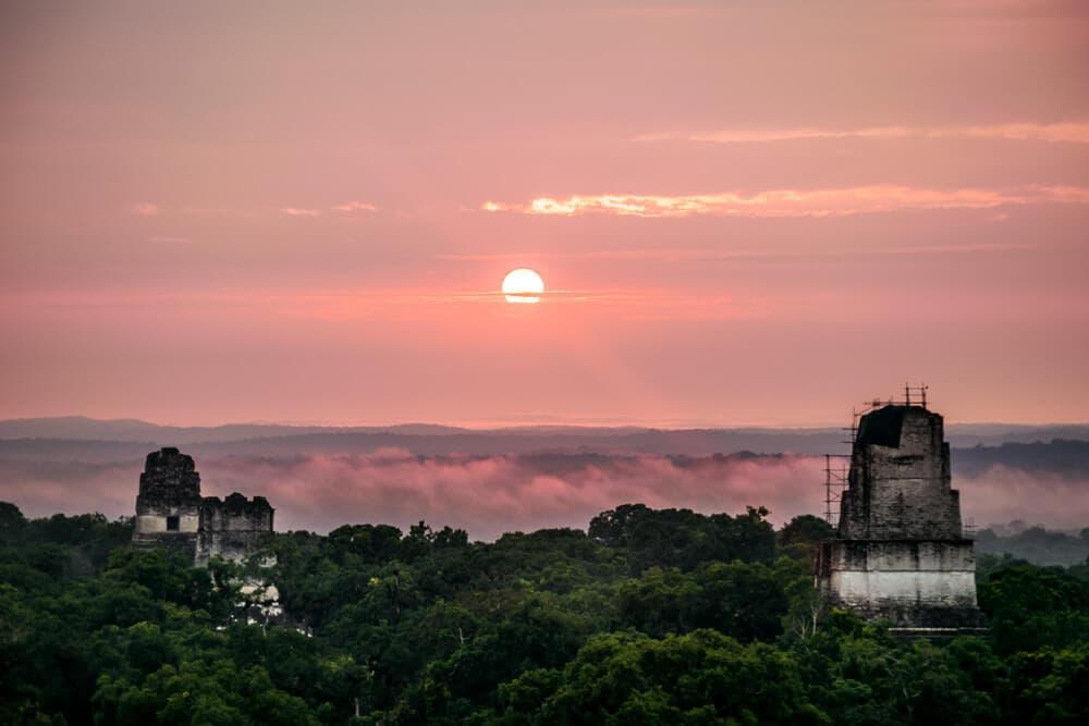 Tikal Sunrise Ruins