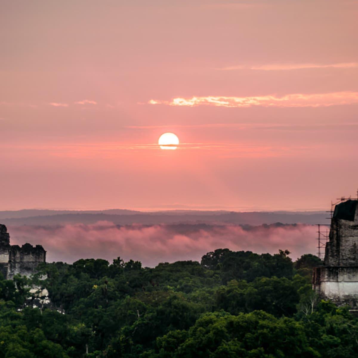 Tikal Sunrise