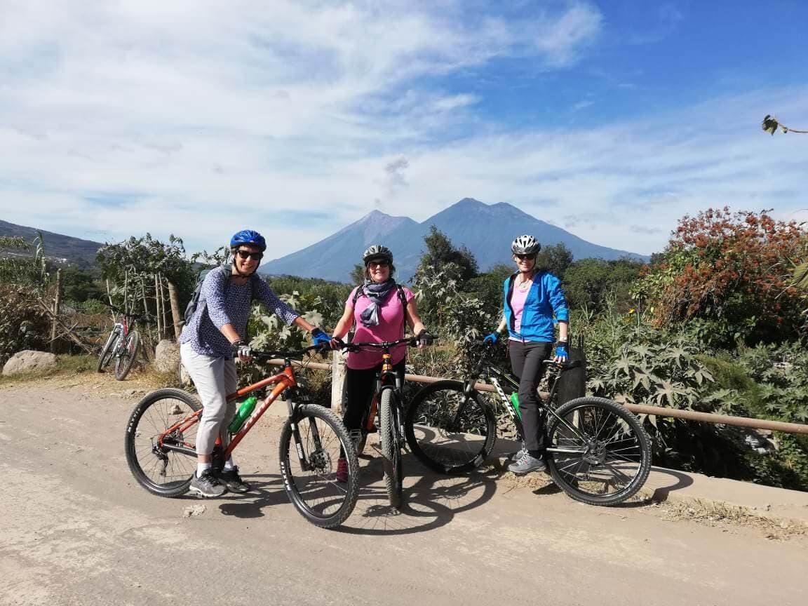 Valley Ride Volcanoes View