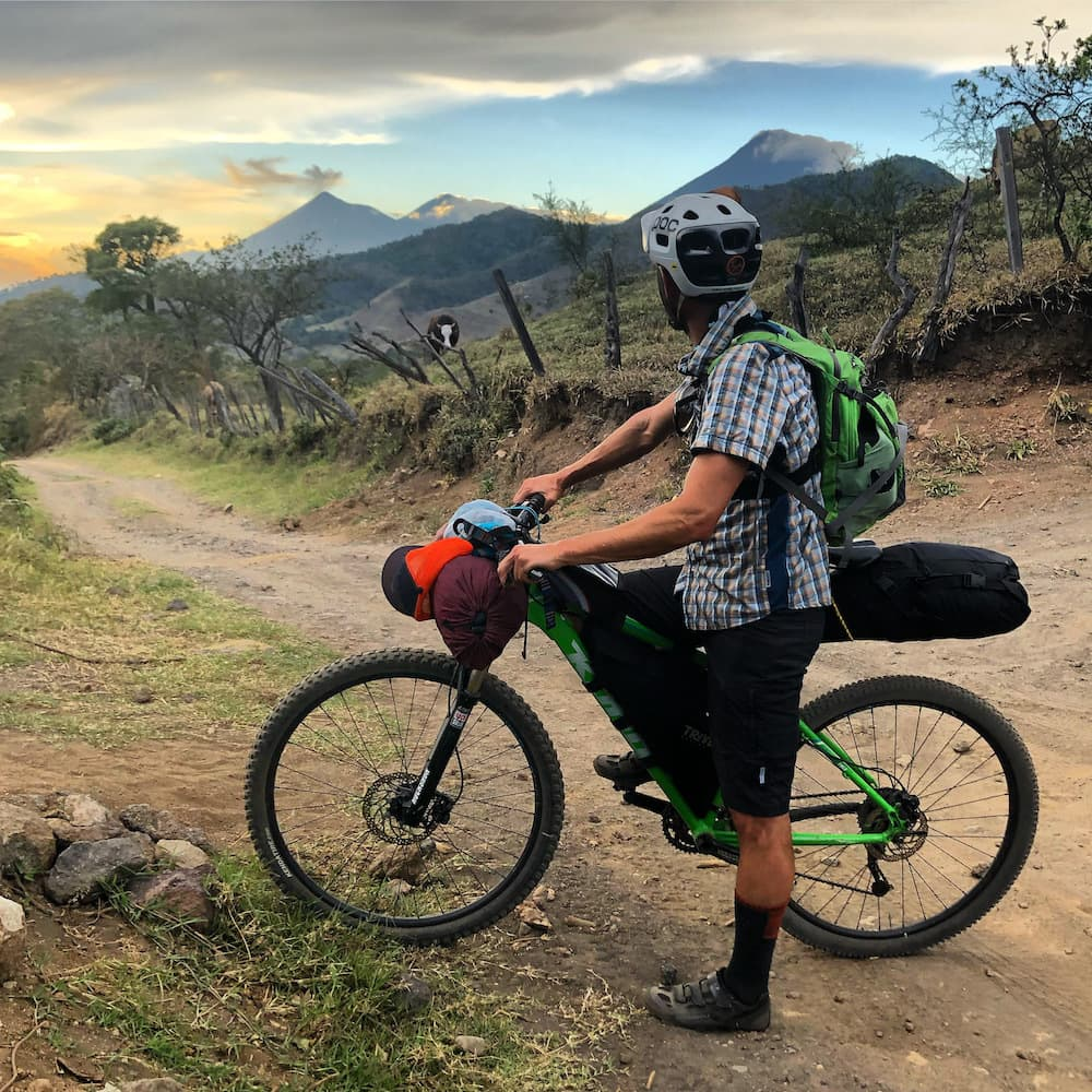 Acatenango and fuego volcanoes