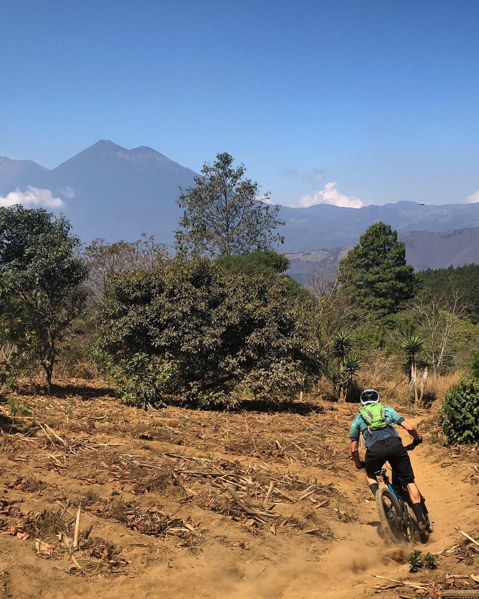 Pillars of heaven ride dirt path