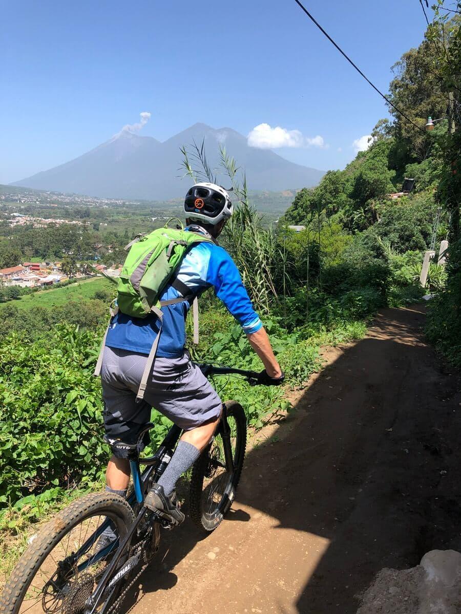 Pillars of heaven volcano bike