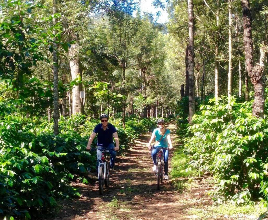 Sip n cycle farm biking